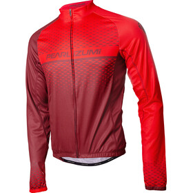 PEARL iZUMi Elite LTD Thermal LS Jersey Men, russet/torch red